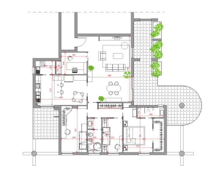 Ristrutturazione abitazione unifamiliare – BARI