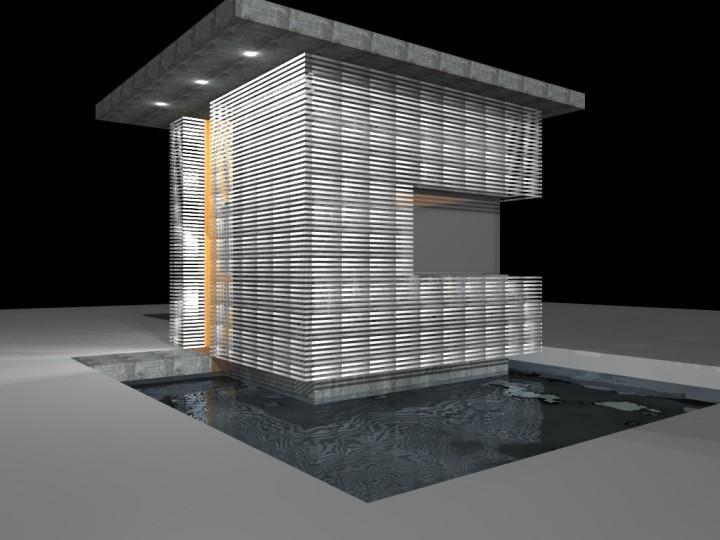 Progetto di un locale di guardiania – Bari